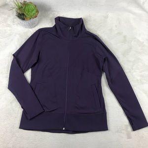 GapFit Womens Zip Up Athletic Jacket